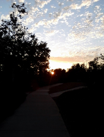 Wordpress weekly photo challenge: the golden hour - bright skies as the sun sets