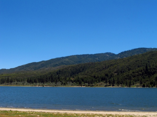 Sunday Post: Natural Resources - water - Lake Hemet, California