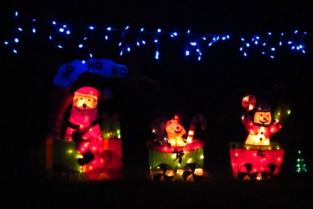 Wordpress weekly photo challenge: Let there be light - Christmas decorations