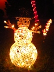 Another snowman Christmas lights