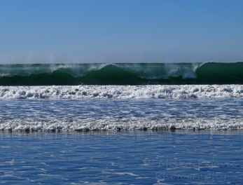 WordPress weekly photo challenge: Sea - the waves at Coronado Beach
