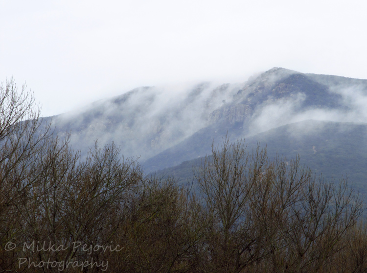 Let's Be Wild Weekly Photo Challenge – Clouds crawling over the hills