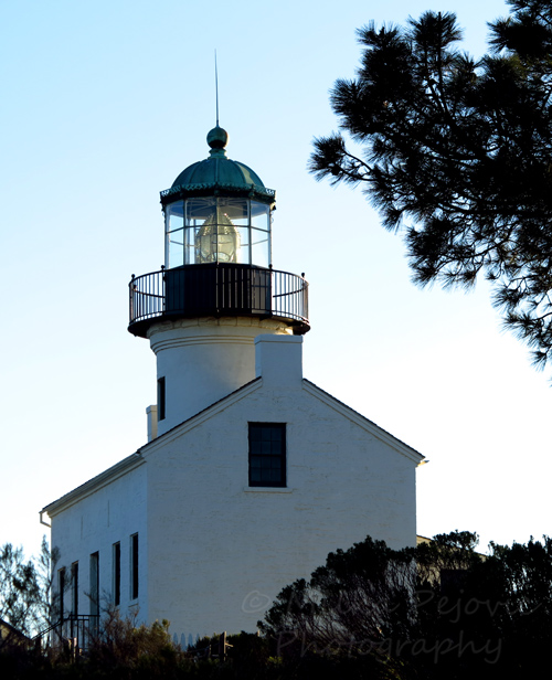Cee's Fun Foto Challenge: Metal - Cabrillo lighthouse