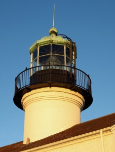Cee's Fun Foto Challenge: Metal - top of the Cabrillo lighthouse