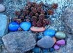 Travel theme: Stone with message