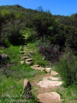 Travel theme: Stones make a stairway