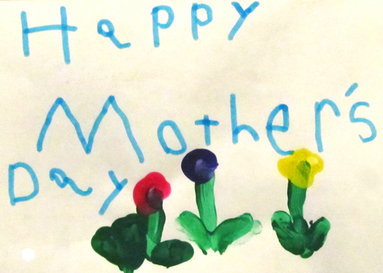 Sunday Post: Mother's Day cardSunday Post: Mother's Day card