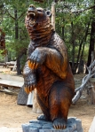 Cee's Fun Foto challenge: brown bear sculpture