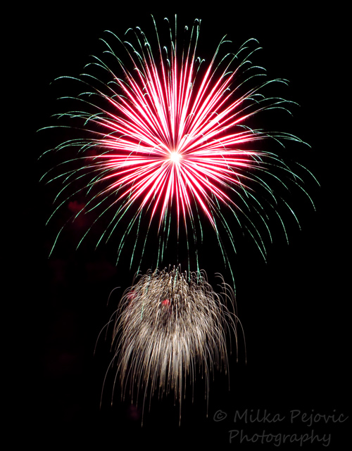 Wordpress weekly photo challenge: Layers of Fourth of July fireworks