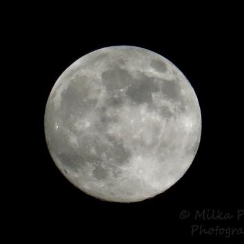 October - full moon