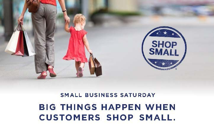 Shop small - small business Saturday 2013