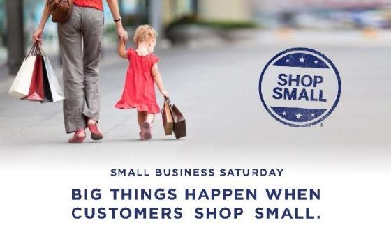 Shop small - small business Saturday 2013