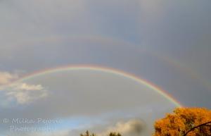 Wordpress weekly photo challenge: One double rainbow in San Diego