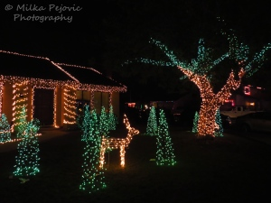 Christmas light outdoor decorations