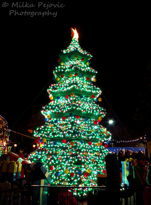 Weekly Photo Challenge: Object - Lego Christmas tree at Legoland