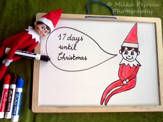 Christmas countdown: the elf on the shelf