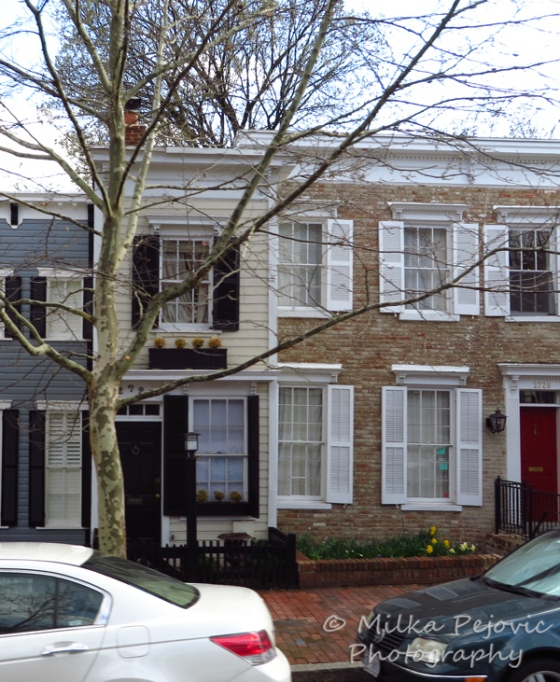 The most narrow house in Georgetown, Washington DC